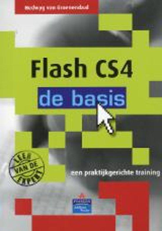 Cover van het boek 'Flash CS4 - de basis'