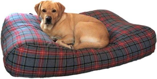 Dog's Companion Hondenkussen - L - 115 x 85 cm - Scottish grey