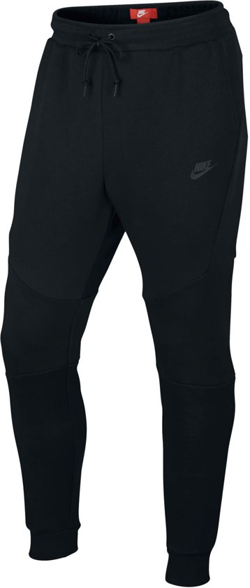 Nike MSW Tech Fleece Jggr Joggingsbroek Heren - Black/Black/(Black) - Maat M