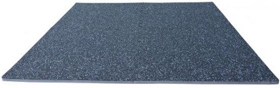 RS Sports Fitness puzzelmat - 122 x 122 x 1,8 cm - zwart grijs