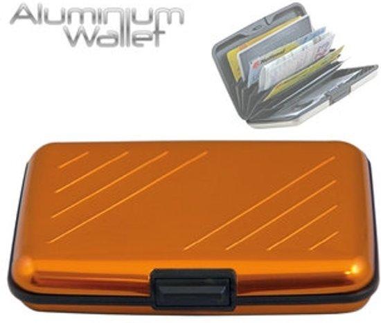 dbd2a254485 bol.com | Orange Donkey - Kaarthouder - Pasjeshouder - Aluminium - Geel