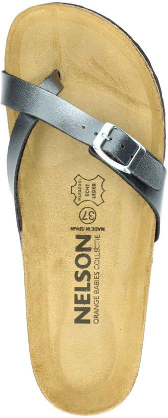 Nelson Dames Slipper - Antraciet