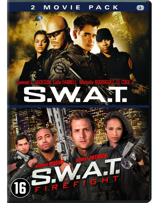 DVD cover van S.W.A.T. / S.W.A.T.: Firefight