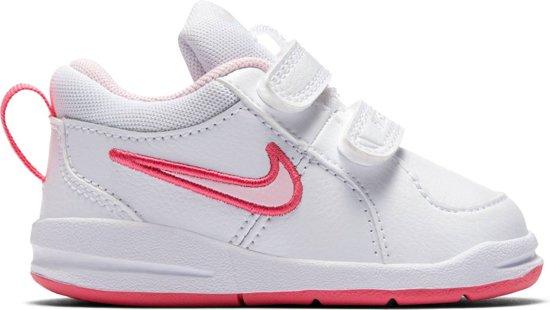Nike Pico (TDV) Sneakers Meisjes - White/Prism Pink-Spark - Maat 23.5
