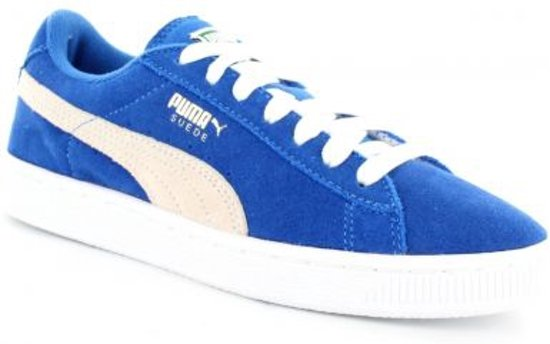 1e361bdfac7 bol.com | Puma Suede Sneakers - Maat 37.5 - Jongens - blauw/wit