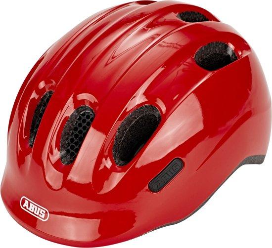 ABUS Junior Helm Smiley 2.0 Sparkling Red