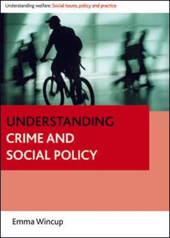social policy and crime