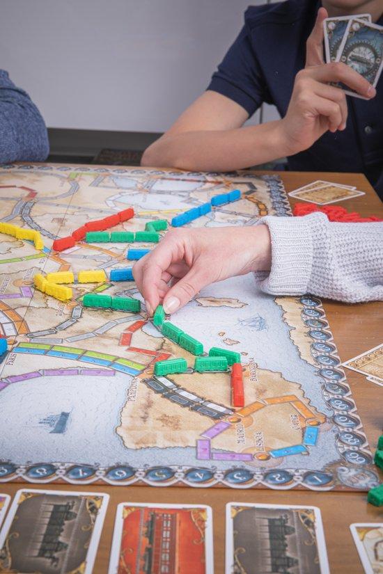 Thumbnail van een extra afbeelding van het spel Ticket to Ride Europe - Bordspel