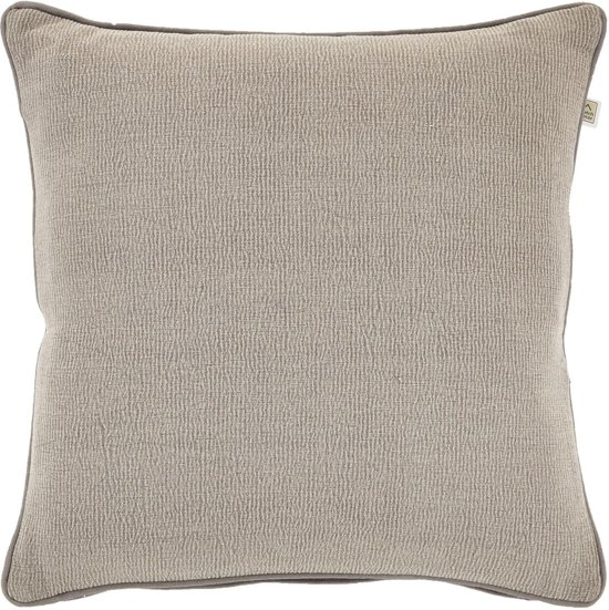 Kussenhoes Wolter 45x45 cm taupe