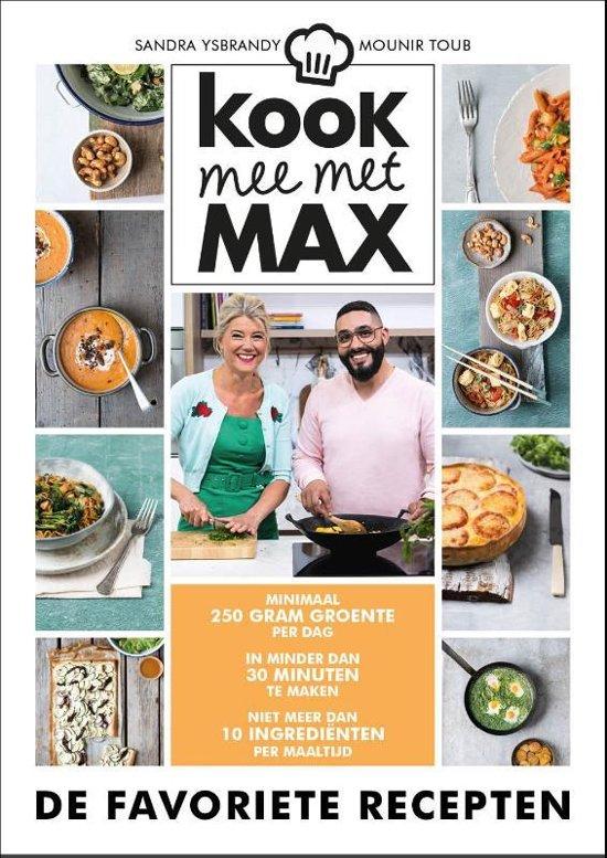 Boek cover Kook mee met Max van Omroep Max (Hardcover)