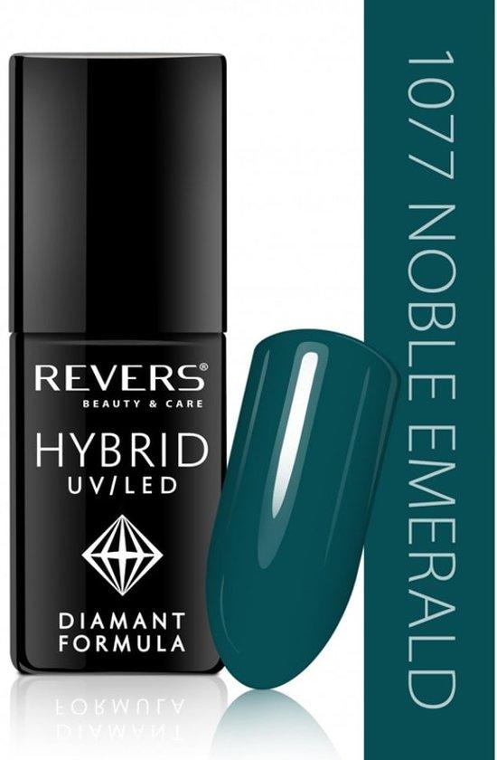 REVERS® Hybrid Nail Polish UV/LED 6ml. #1077 Noble Emerald