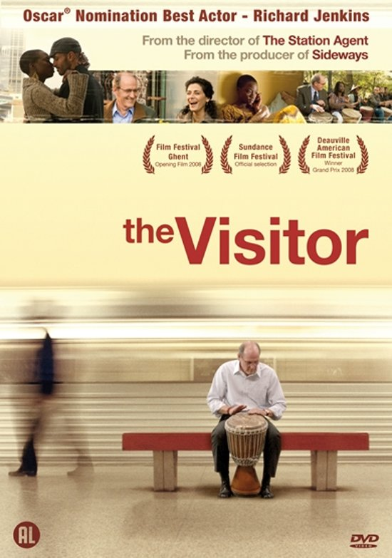 DVD cover van The Visitor