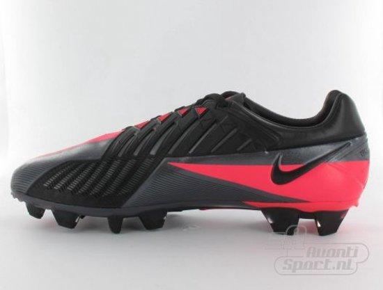 Nike T90 Laser IV FG Veldvoetbalschoenen Volwassenen Maat 40.5 Donker Grijs Roze Zwart