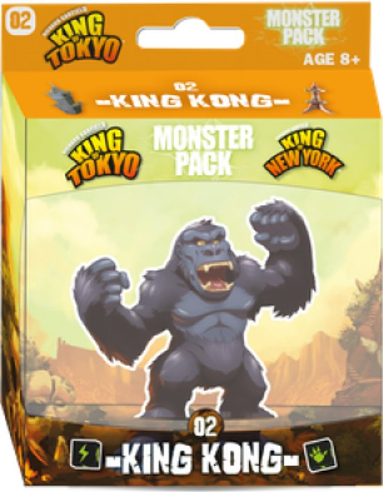 King of Tokyo - Monster pack 02 - King Kong