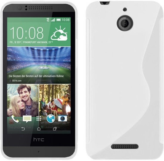 Image of HTC Desire 620 Silicone Case s-style hoesje Wit (8719172726862)