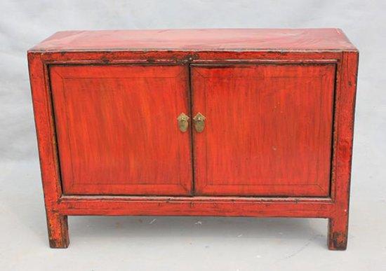 Bolcom Chinese Meubelen Chinese Kast Rood Antiek Kastje