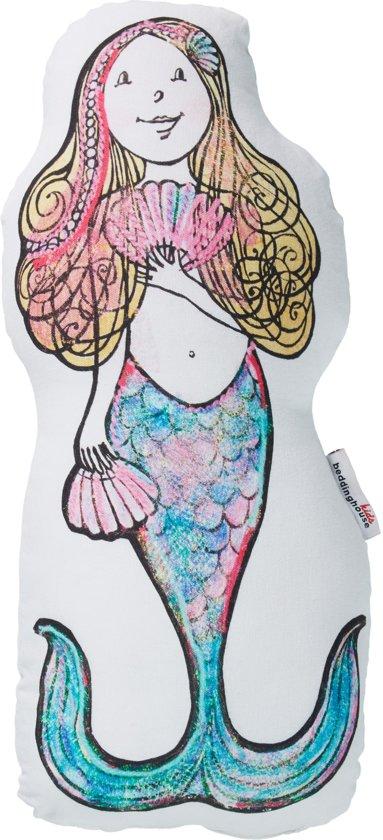 Beddinghouse Kids Mermaid - sierkussen - 25x50 cm - Roze