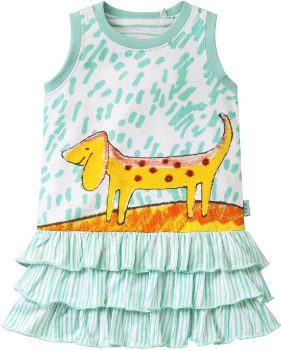 Jersey jurk Tooftoof voor meisjes groen