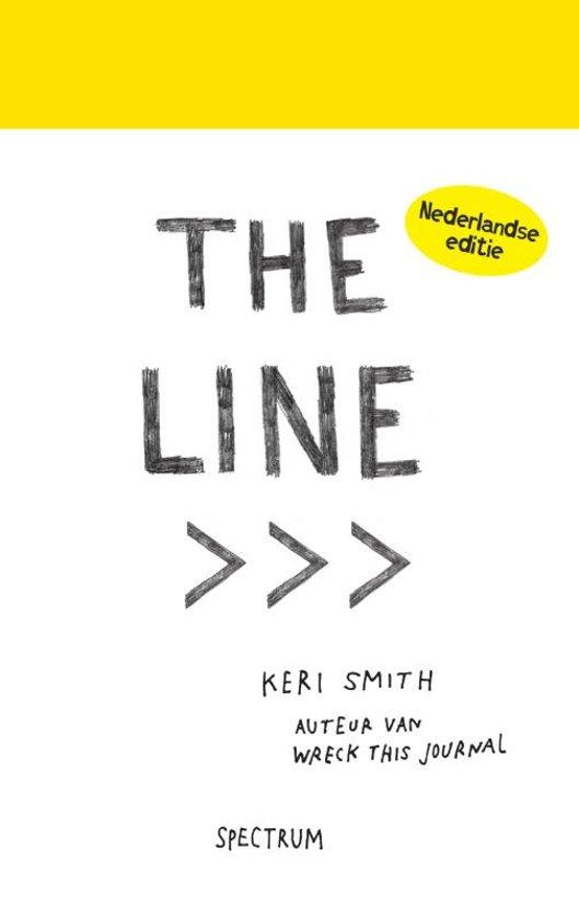 Boek cover The line van Keri Smith (Paperback)