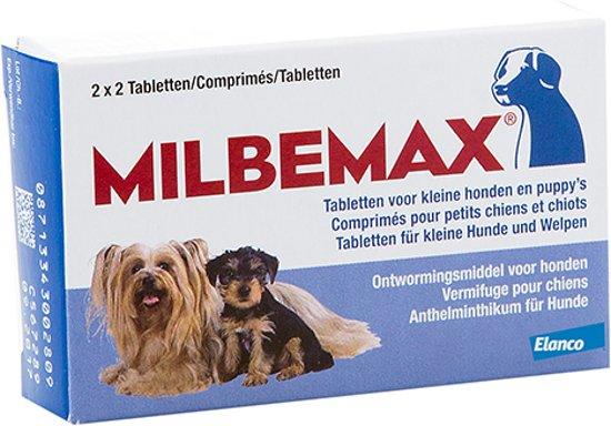 Milbemax Ontwormingsmiddel - Kleine Hond - 2x2 Tabletten