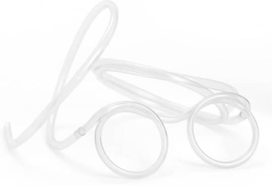 Drinkbril Rietje
