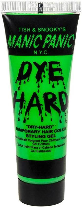 bol   electric lizard neon uv, dye hard uitwasbare haarverf gel