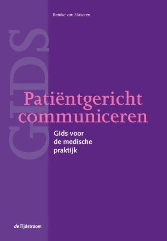 Patiëntgericht communiceren