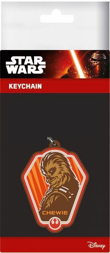 Sleutelhanger Rubber -Star Wars Episode V - Chewie