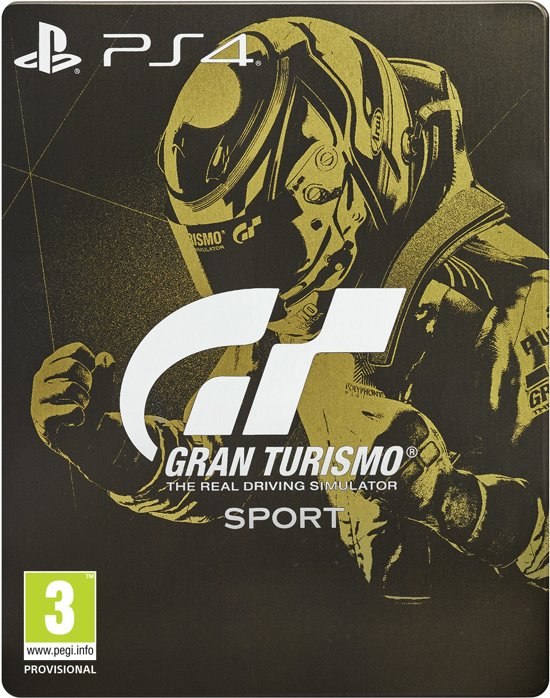 gran turismo sport steelbook edition ps4 sony games. Black Bedroom Furniture Sets. Home Design Ideas