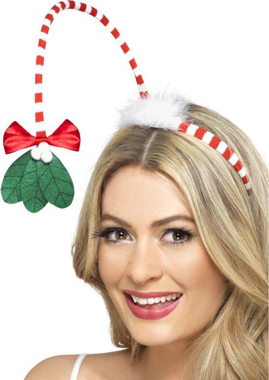 Mistletoe haarband voor volwassenen - Verkleedattribuut