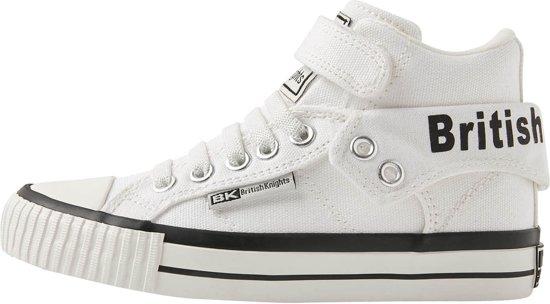 9e1989a690f British Knights ROCO Jongetjes sneakers hoog - Wit - maat 35