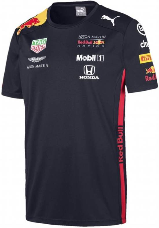 Max Verstappen Red Bull Racing teamline T-shirt 2019 Maat XL