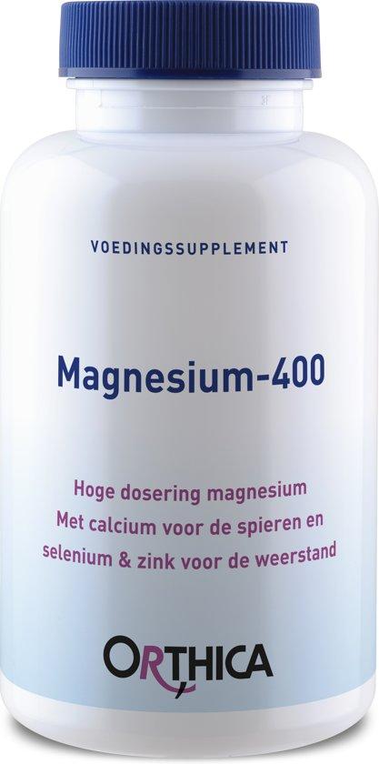 Orthica Magnesium 400 Voedingssupplement - 120 stuks
