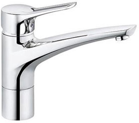 Keukenkraan Kludi MX uittrekbare handdouche chroom 399410562
