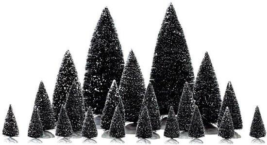 Lemax Kerstdecoratie Lemax - 21 Pc Assorted Pine 2,35