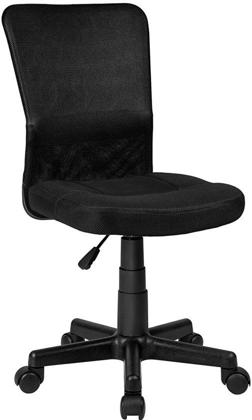 Tectake - Bureaustoel kantoor design - zwart