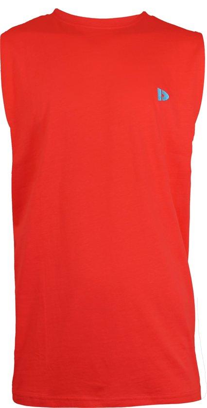 Donnay T-shirt zonder mouw - Tanktop - Sportshirt - Heren - Maat XXL - Rood