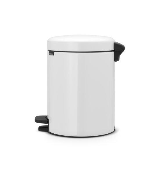 Brabantia NewIcon Pedaalemmer 5 Liter Wit