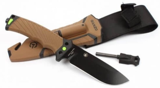 Ganzo F803-DY Fixed Blade Survival