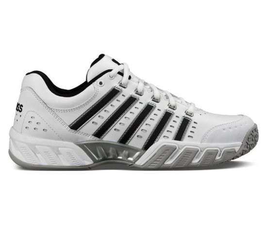 bol | k-swiss big shot light leather omni tennisschoenen heren