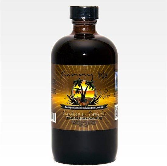 Sunny Isle Jamaican Black Castor Oil Ex Dark 4 Oz.