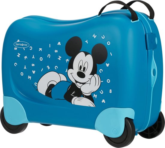 83d53824c32 Samsonite Ride-on Kinderkoffer - Dream Rider Disney Suitcase Disney Mickey  Letters