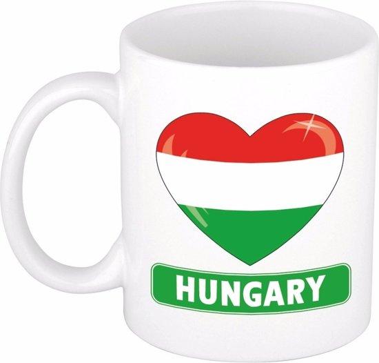 Hartje Hongarije mok / beker 300 ml