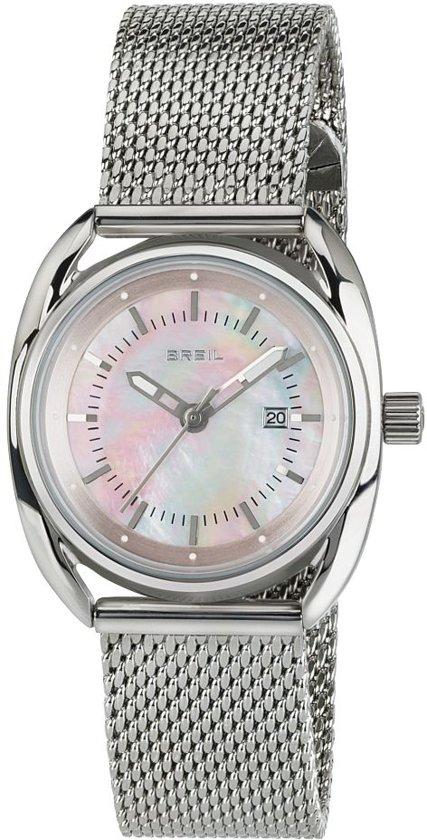 Breil TW1680 horloge dames - zilver - edelstaal