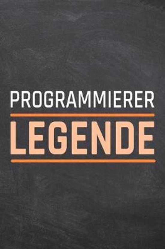 Programmierer Legende: Programmierer Punktraster Notizbuch, Notizheft oder Schreibheft - 110 Seiten - B�ro Equipment & Zubeh�r - Lustiges Ges