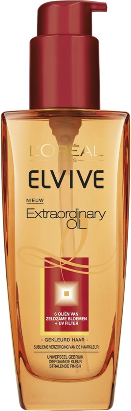 L'Oréal Paris Elvive Extraordinary Oil - 100 ml - Olie - Gekleurd Haar