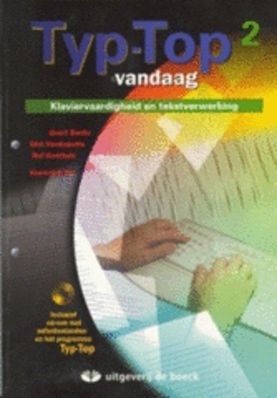 Typ top vandaag 2 word 2003 leerwerkboek cd rom