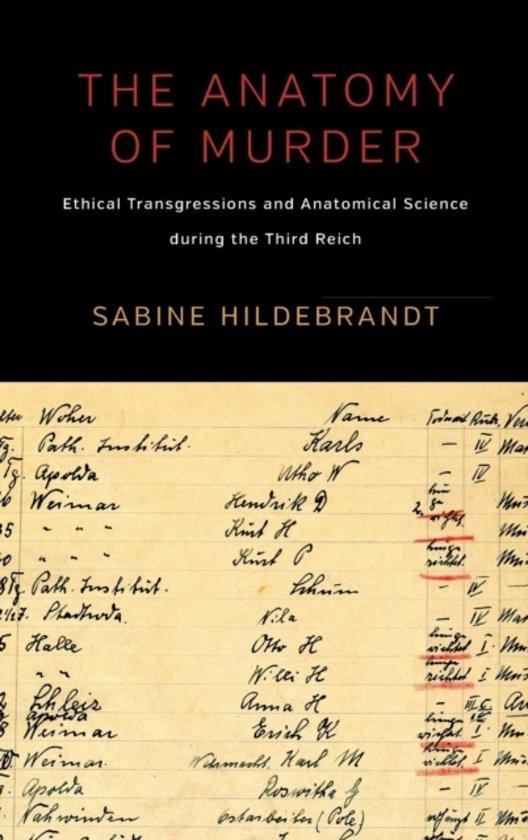 Bol The Anatomy Of Murder 9781785330674 Sabine Hildebrandt
