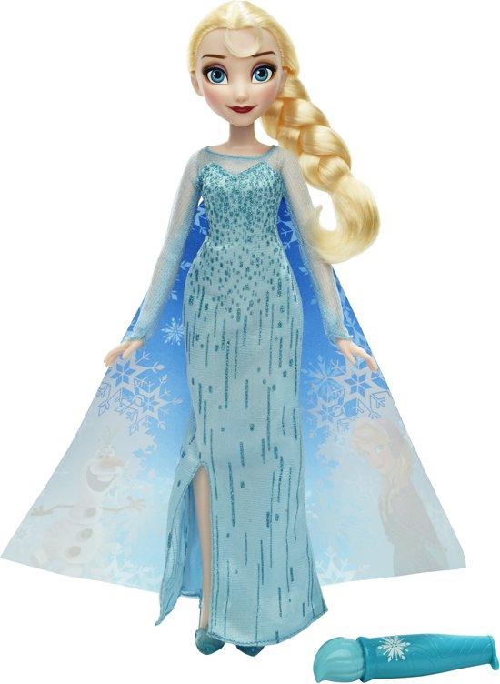 Disney Frozen Elsa met Magische Jurk - Pop