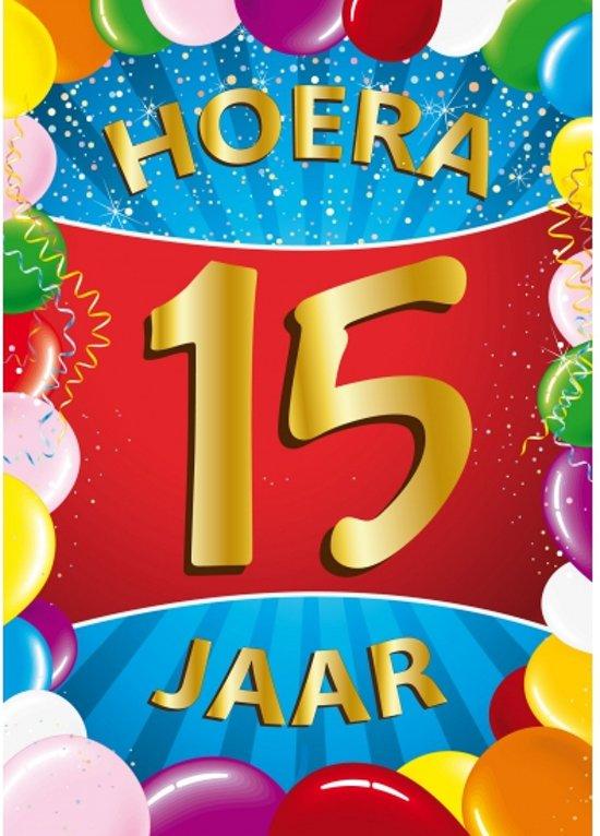 15 Jaar Verjaardag